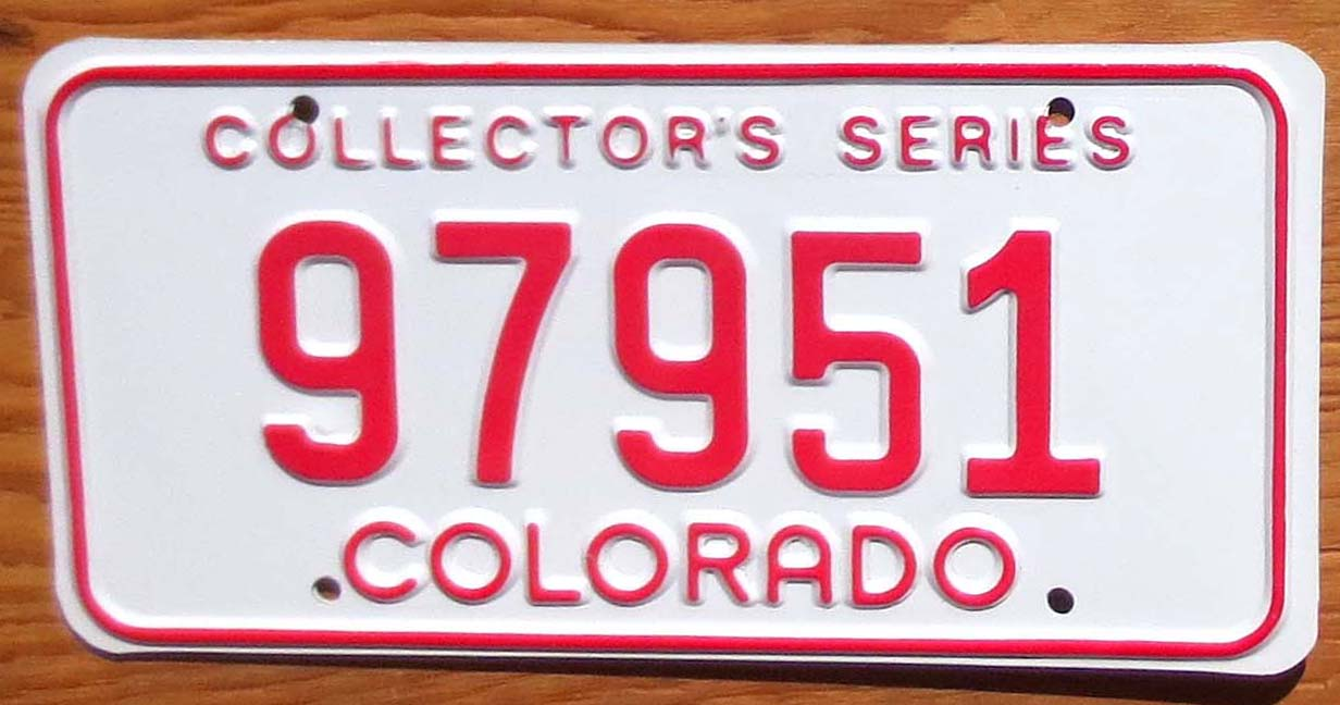 1980s-90s Colorado Collector Series mint