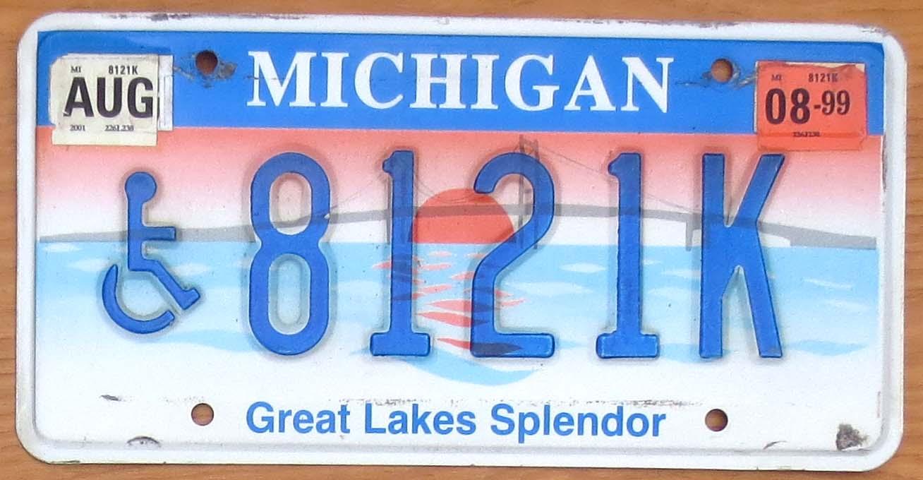 1999 Michigan Great Lakes Splendor Handicapped Vg